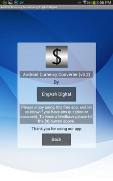 Money Exchange for Android apk screenshot
