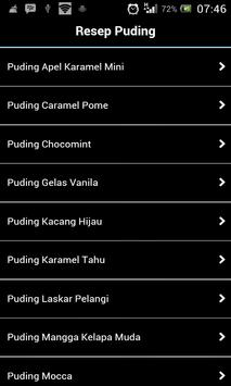 Resep Puding poster