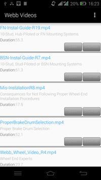 Webb Wheel Professional apk screenshot