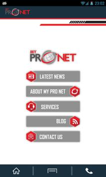 My Pro Net Demo apk screenshot