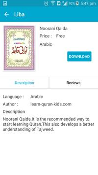 Liba - Islamic Books apk screenshot
