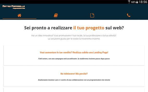 Matteo Papparella App Android apk screenshot