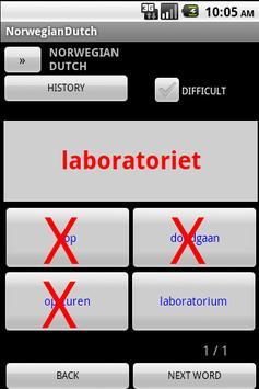 Norwegian Dutch Dictionary apk screenshot