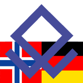 Norwegian German dictionary icon