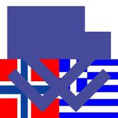 Norwegian Greek Dictionary icon
