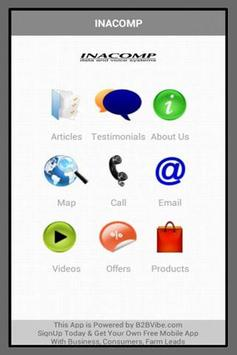 INACOMP PROFILE apk screenshot