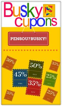 Busky - Cupons poster