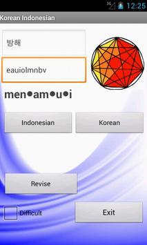 Indonesian Korean Dictionary poster