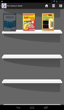 RU Library e-Book poster