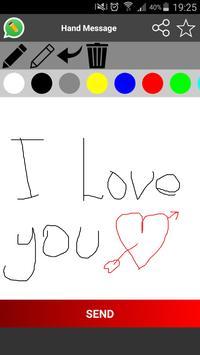 Handwrite for WhatsApp apk screenshot