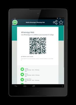 Browser for WhatsApp Web apk screenshot