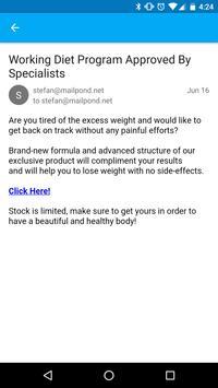 Mailpond apk screenshot