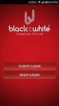 BLACK AND WHITE CREATIONS apk screenshot