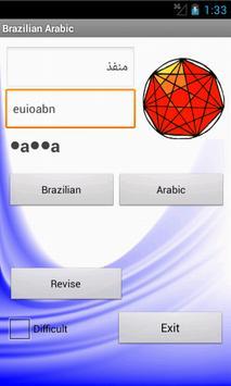 Brazilian Arabic Dictionary apk screenshot