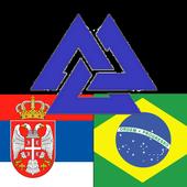 Brazilian Serbian Dictionary icon