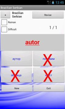 Brazilian Serbian Dictionary apk screenshot