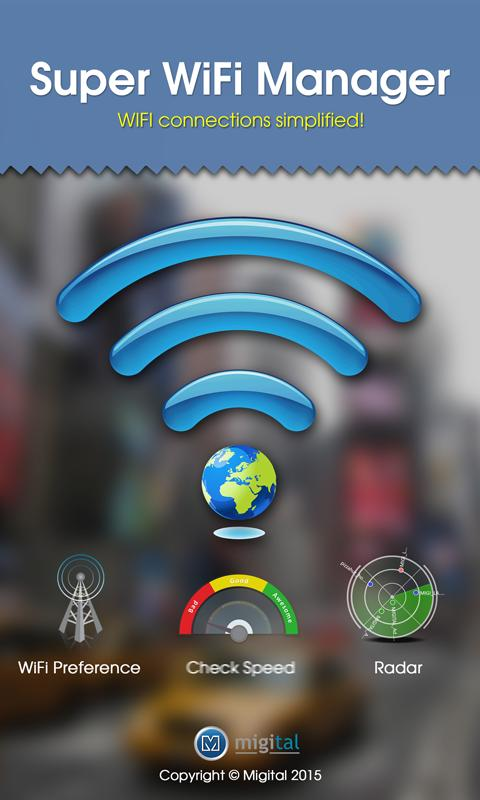 Super WiFi Manager APK Download - Free Productivity APP ...