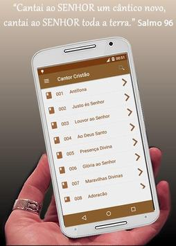 Hinário Cantor Cristão apk screenshot