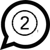 Dual whatsapp one phone icon