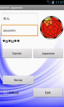 Japanese Danish Dictionary apk screenshot