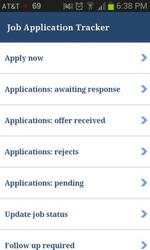 Job Application Tracker apk screenshot
