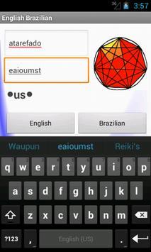 Brazilian English Dictionary apk screenshot