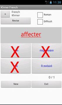 French Cambodian Dictionary apk screenshot