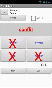 Dutch French Dictionary apk screenshot