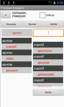French Spanish Dictionary apk screenshot