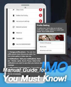 Guide imo vdo voice chat call poster
