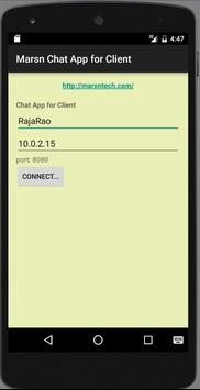 Marsn Tehchnologies Chat App poster