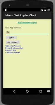 Marsn Tehchnologies Chat App apk screenshot