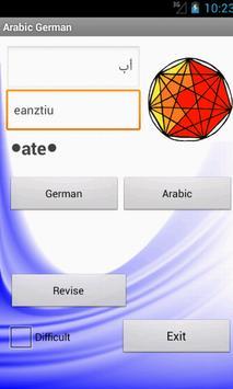 Arabic German Dictionary apk screenshot
