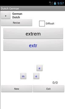 Dutch German Dictionary apk screenshot