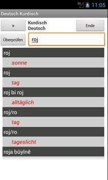 German Kurdish Dictionary poster