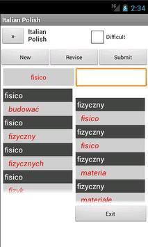 Polish Italian Dictionary apk screenshot