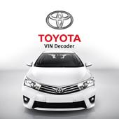 Toyota VIN Decoder icon