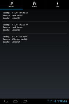 Paniekmelding apk screenshot