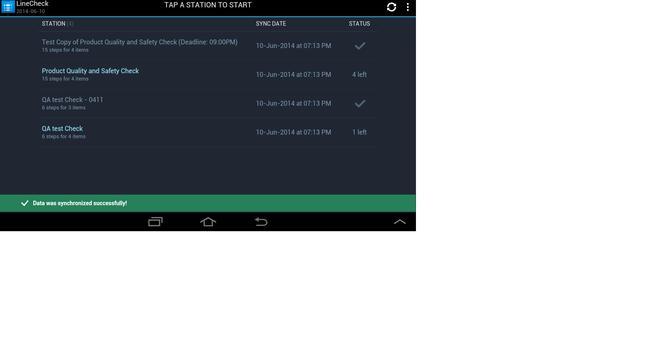Data Central Line Check apk screenshot