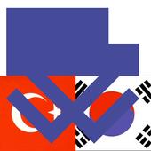 Korean Turkish Dictionary icon