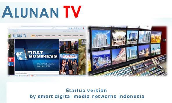 ALUNAN TV startup New Version poster