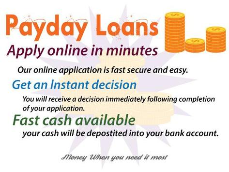 Bad Credit Payday Loans poster