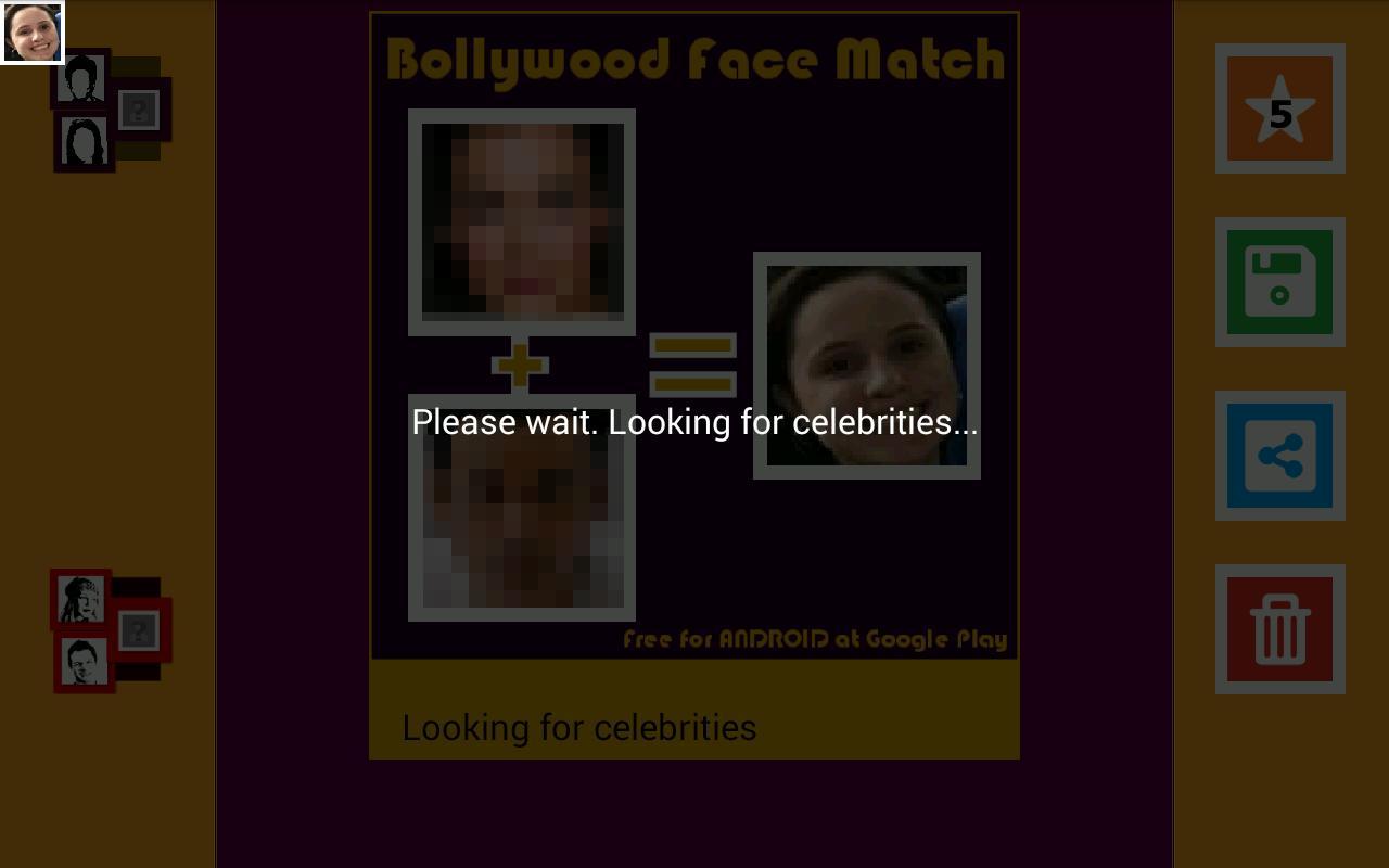 Celebrity face mash app free