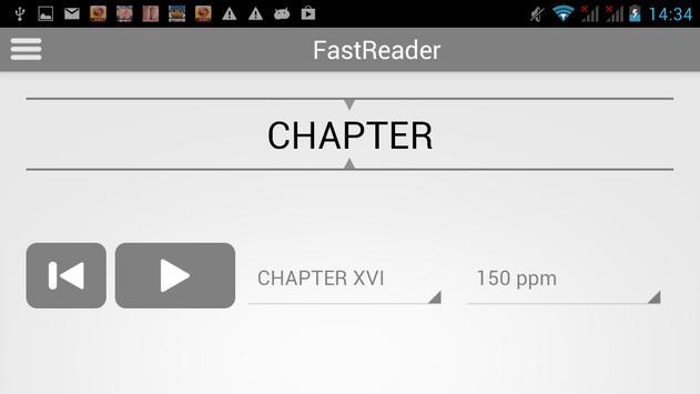 FastReader - 1000 words, 1 min poster