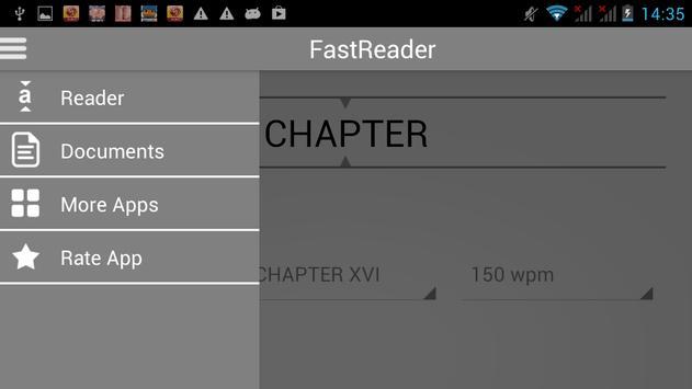 FastReader - 1000 words, 1 min apk screenshot