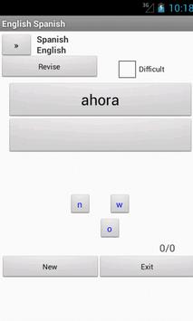 Spanish English Dictionary apk screenshot