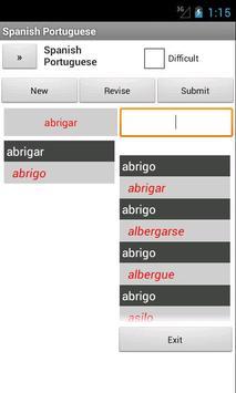 Portuguese Spanish Dictionary apk screenshot