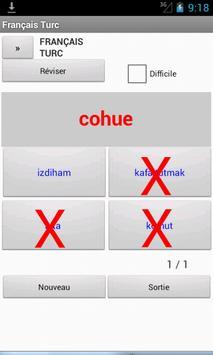 French Turkish Dictionary apk screenshot