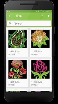 Leave Embroidery Designs apk screenshot