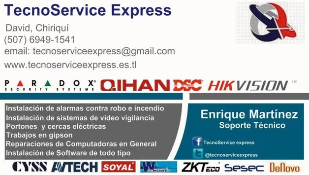 Tecnoservice Express poster